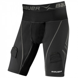 Suspenzor+Šortky Bauer Premium Compression Jock Short Senior